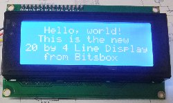 20x4 LCD Display Module with Backlight
